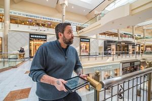 Celebrity chef Mike Isabella at Tysons Galleria mall in the US in 2015.