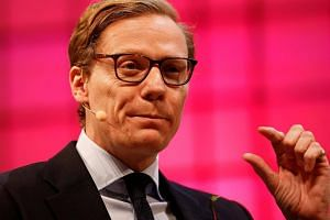 """The report relied on surreptitious video recordings of Alexander Nix, the chief executive of Cambridge Analytica, claiming to have used """"a web of shadowy front companies"""" in pursuit of winning elections."""