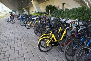 There are currently more than 170,000 bicycle parking spaces across the island, and plans are afoot to add another 50,000 by 2020.