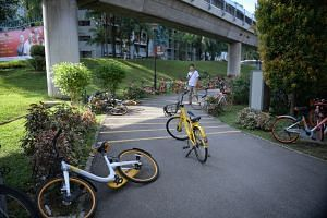 Bike-sharing operators will now need to apply for a licence and have their fleet sizes controlled.