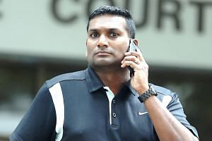 Luke Manimaran Degarajoo was sentenced to 11 months' jail and three strokes of the cane for molesting a client.