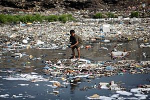 For pollution, eight of 10 rivers around the world with most plastic waste were in Asia.