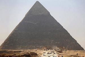 The Great Pyramid of Khufu is the only one of the Seven Wonders of the ancient world still standing.