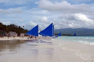 The Philippines' Boracay is one of the popular South-east Asian islands which will soon be off limits to visitors.