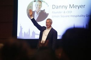 Danny Meyer, founder and chief executive officer of Union Square Hospitality Group, at the event.