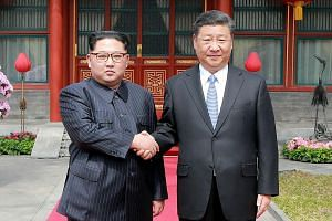 At his meeting with Chinese President Xi Jinping, North Korean leader Kim Jong Un pledged commitment to the denuclearisation of the Korean peninsula.
