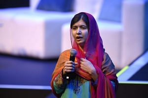 Malala Yousafzai has become a global symbol for human rights and a vocal campaigner for girls' education since she was shot on a schoolbus on Oct 9, 2012.