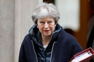 British Prime Minister Theresa May will take in Scotland, England, Northern Ireland and Wales during her day-long tour, aiming to rally support ahead of Britain's EU departure on March 29, 2019.