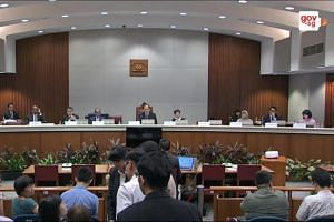 "The Select Committee had given Human Rights Watch till noon on March 29, 2018, to respond to its latest invitation to give evidence on its report, ""Kill the Chicken to Scare the Monkeys"" - Suppression of Free Expression and Assembly in Singapore""."
