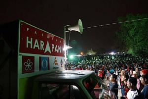 The crowd at opposition group Pakatan Harapan's rally in Perlis last Friday. Its leaders are hoping for a
