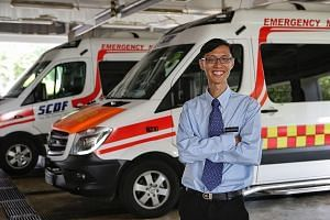 Associate Professor Marcus Ong, 48, has pushed for more people to be trained in cardiopulmonary resuscitation, including spearheading training sessions in schools, offices, community clubs and religious organisations through the Dispatcher Assisted f