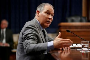 """Mr Scott Pruitt said he was """"dumbfounded"""" his renting of the room in a townhouse was controversial and said his ethics officials reviewed the lease."""