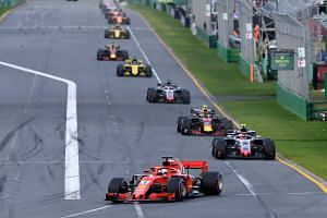 Formula One published a five-point plan, outlining key initiatives put to teams on April 6, 2018.
