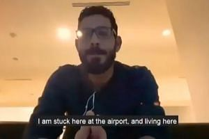 Hassan al-Kontar had planned to travel from Malaysia to Ecuador, but was turned away from the flight to the South American country despite having a ticket.
