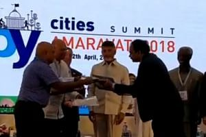 Metaverse Systems was among eight Singapore companies that entered the Pitch Competition at the three-day Happy Cities Summit in Andhra Pradesh.