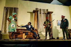 The play, which chronicles the final days of former president Robert Mugabe's rule, marked a watershed in Zimbabwe, where satirical productions that mocked Mugabe used to be ruthlessly suppressed.