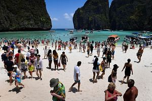 Thailand's popular Maya Bay beach will be off limits for four months from June to September, officials announced last month, in a bid to save its ravaged coral reefs.