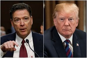 Former FBI director James Comey says in a new book that President Donald Trump reminded him of a mafia boss who demanded absolute loyalty, saw the entire world against him, and lied about everything.