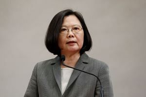 Taiwan's President Tsai Ing-wen has warned against what she called Beijing's