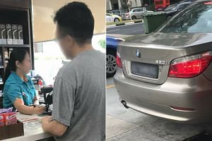 A netizen said the BMW driver claimed that a pump attendant had mistakenly refilled his car with a full tank, which costs about $135, even though he had only asked for $10 worth of petrol.