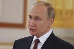 Russian President Vladimir Putin said further Western missile strikes on Syria would lead to chaos in international relations.