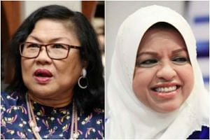 Former Umno Women chief Rafidah Aziz (left) and current Umno Women wing chief Shahrizat Jalil are among the most recognisable names in Malaysian politics.