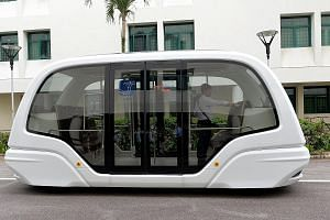Nanyang Technological University students will soon be able to make their way around campus on a driverless shuttle bus, as part of a collaboration between NTU, SMRT Services and Dutch firm 2getthere. The bus, which can carry 24 passengers and travel
