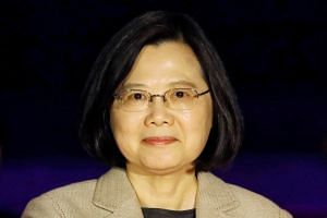 Taiwan's president Tsai Ing-wen said she had told national security officials to closely monitor the