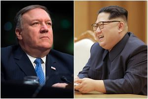 CIA Director Mike Pompeo made a top-secret visit to North Korea over the Easter weekend as an envoy for President Donald Trump to meet with that country's leader, Mr Kim Jong Un, according to two people with direct knowledge of the trip.
