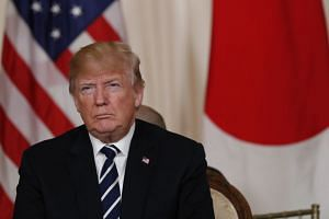 US President Trump appeared to confirm that North and South Korean talks on April 27 will touch on a possible peace treaty - a deeply symbolic replacement to the more ad-hoc armistice signed in 1953.