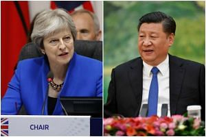 "Chinese President Xi Jinping and British Prime Minister Theresa May agreed to further promote the ""Golden Era"" of bilateral ties between the two sides."