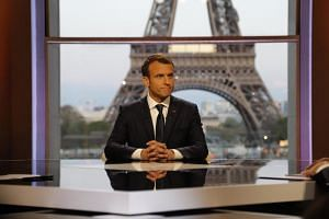 French President Emmanuel Macron has spoken to Mr Trump by phone in the last year more than with any other leader, arguably becoming Mr Trump's bridge to Europe.