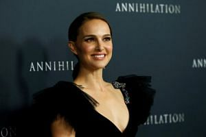 Natalie Portman poses at the premiere for Annihilation in Los Angeles, California, US on Feb 13, 2018.