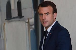 French President Emmanuel Macron said he supports efforts to curb Iran's ballistic missile programme, but that this does not require scrapping the Joint Comprehensive Plan of Action nuclear accord.