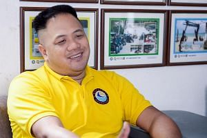 Mr Peter Tay, 45, a Singaporean, owns a travel agency in Boracay. Nearly all his business relies on diving trips around Boracay, and on tourists from China, Taiwan, South Korea and Malaysia.