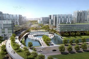 CapitaLand has signed two memorandums of understanding to explore developing and managing large-scale business park and township projects in Ningbo and Jiaxing.
