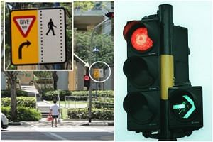 LTA said that it does regular reviews to identify accident-prone locations, and beefs up safety in such areas with special lights, signs or road markings.
