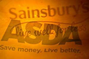Sainsbury's and Asda would overtake Tesco with a combined market share of 31.4 per cent.