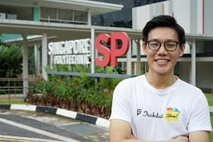 Mr Lee Zheng De, a 20-year-old graduate of Singapore Polytechnic, launched online travel planner Packdat.com.