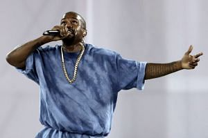 Kanye West made the comments in passing during one of two free-flowing interviews he gave as he promotes two upcoming albums.