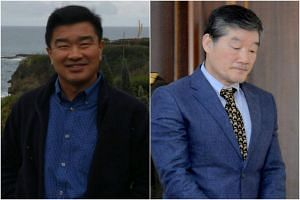 Kim Sang Duk (left) was arrested in 2017 after teaching in North Korea for several weeks and Kim Dong Chul was arrested in 2015 after reportedly receiving nuclear-related data from a former soldier.