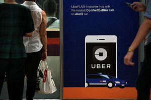 Uber's cessation here will mark the end of its five-year foray into Singapore. The US company sold its regional business to rival Grab in March.