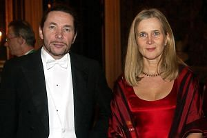 Swedish Academy member Katarina Frostenson with her husband Jean-Claude Arnault, who has been accused by 18 women of improper sexual behaviour - some at a club run by the two with academy funding.