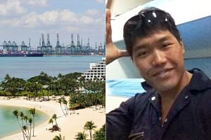Commercial diver Jake Seet was found dead off the Sentosa coast on May 7, 2018.