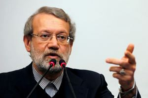 Iran's Tasnim news site reported that Speaker of Iran's Parliament Ali Larijani said the Atomic Energy Organisation of Iran should be ready to resume all nuclear activities.
