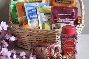 An assortment of Tong Garden products.