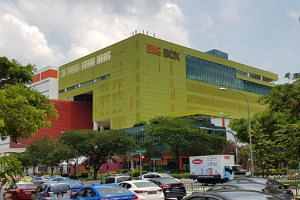 The sale of TT International's Big Box in Jurong East will be be conducted via an expression of interest which will close on June 14 at 3pm.