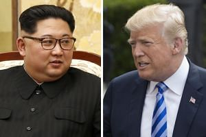 US President Donald Trump is scheduled to meet North Korean leader Kim Jong Un in Singapore on June 12, 2018.
