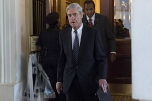 Special counsel on the Russian investigation Robert Mueller leaves following a meeting with members of the US Senate Judiciary Committee at the US Capitol in Washington, DC on June 21, 2017.