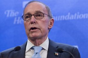 National Economic Council director Larry Kudlow said that the United States continued to press demands about Chinese trade practices.